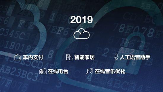 2019年将迎来更多云端功能和车主服务