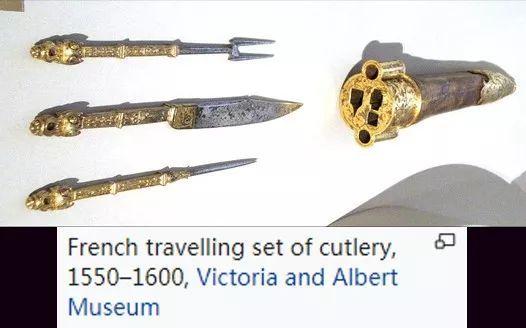 法国旅行餐具套装,1550-1600年