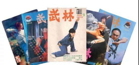 琳琅满目的《武林》杂志曾有大量的粉丝。