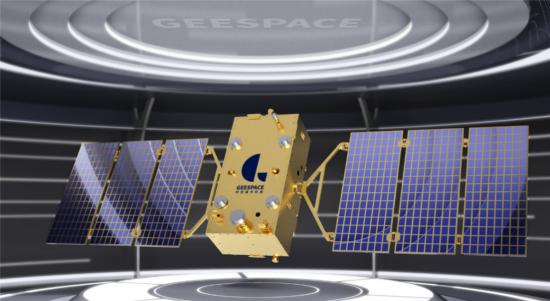 时空道宇首发卫星示意图