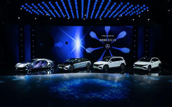 全新EQS、全新EQA、全新EQB及梅赛德斯-奔驰VISION AVTR概念车