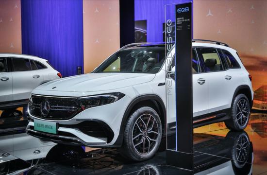 """作为中国市场唯一7座新生代豪华纯电车型全新EQB纯电SUV堪称""""电动出行大生活家"""""""