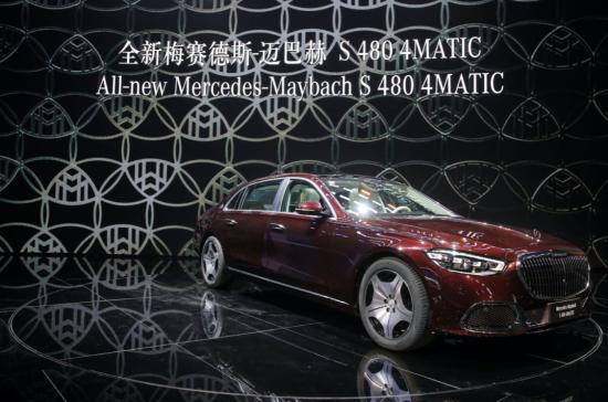全新梅赛德斯-迈巴赫S 480 4MATIC再次定义豪华汽车至臻标准