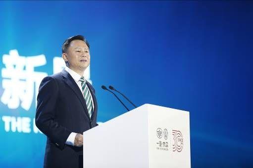 中国第一汽车集团有限公司董事长、党委书记徐留平发表致辞