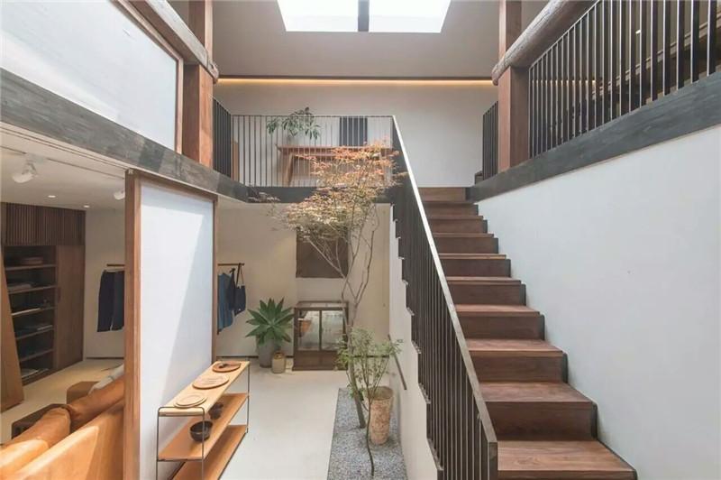 门店楼梯设计效果图